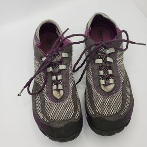 Merrell barefoot dark shadow shoes size 9.5